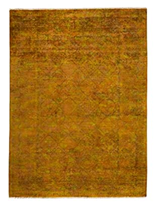 Darya Rugs Transitional Oriental Rug, Yellow, 8' 6