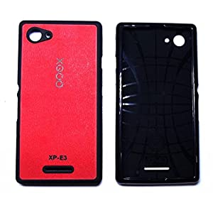 XGOQ Back Case Cover For Sony Xperia E3 & E3 Dual D2203, D2206, D2243, D2202 (Red) - By Online Shoppee