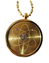 Amazheal Mineral Science Technology Mnt Pendant Gold