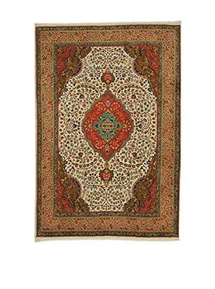 Eden Teppich   Tabriz 50 200X295 mehrfarbig