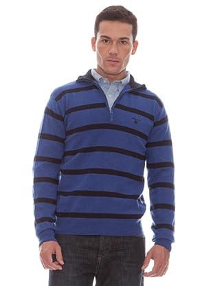 Gant Jersey Cremallera (Azul)