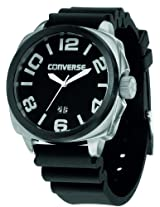 Converse Andover Black Silicone Mens Watch Vr040-005