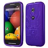 Motorola Moto E Cruzerlite Bugdroid Circuit Case For Motorola Moto E - Purple