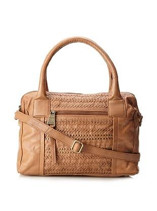 Marc New York Women's Sophie Embellished Leather Satchel (Caramel)