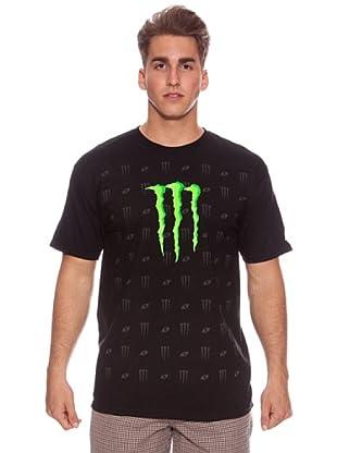 Monster Energy Camiseta Louis (Negro)