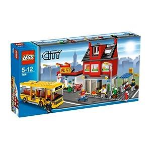 レゴシティシリーズのレゴの街角ジオラマ外箱写真