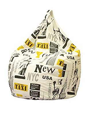 Home Low Cost Puff Grande New York Beige/Amarillo