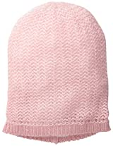 D&Y Women's Light Knit Beanie with Lurex