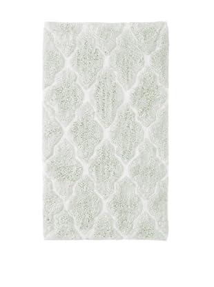Bella Letto Diamond Scroll Rug (White/Green)