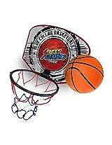 Twitfish® - Mini Basketball Set - Portable Basket Ball Hoop -