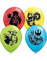"Pioneer Balloon Company 25 Count Star Wars Special Latex Balloons, 11"", Assorted"