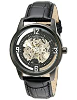 Stuhrling Original Analog Black Dial Men's Watch - 877.06