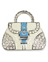 Pen Drive ZT11611 Lady Purse Shape Fancy Jewellery Style 16 GB USB 2.0 pen drive in White Color