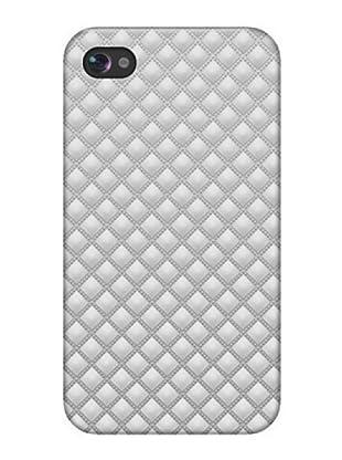 Blautel iPhone 4/4S Carcasa Protectora Rombos Blanco