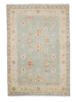 Darya Rugs Oushak Oriental Rug, Blue, 4' 3
