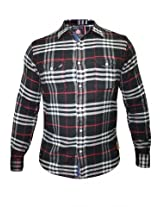 Spykar Men's Black Checks Shirt