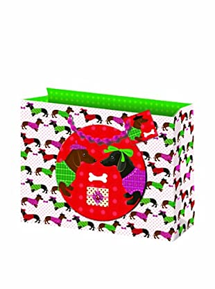 Punch Studio Set of 5 Molly & Rex Gift Bags (Doggie)