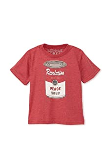 Lords of Liverpool Kid's Peace Soup T-Shirt (Red)