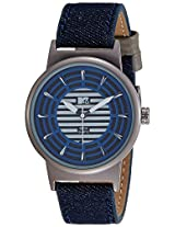 MTV Analog Blue Dial Men's Watch - B7019BL