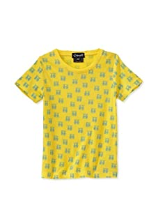 A for Apple Rat T-Shirt with G&M Repeat (Yellow)