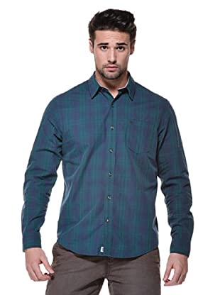 Timberland Camisa Claremont (Verde/Azul)