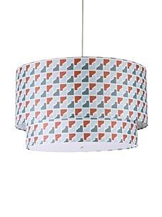 Inhabit Hudson Double Pendant Lamp (Persimmon/Steel)