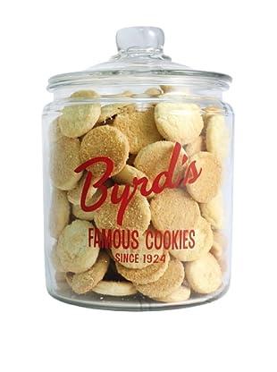 Byrd Cookie Company Logoed Jar with Sugar Cookies, 1lb