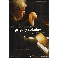 輸入盤DVD グリゴリー・ソコロフ:Live in ParisのAmazonの商品頁を開く