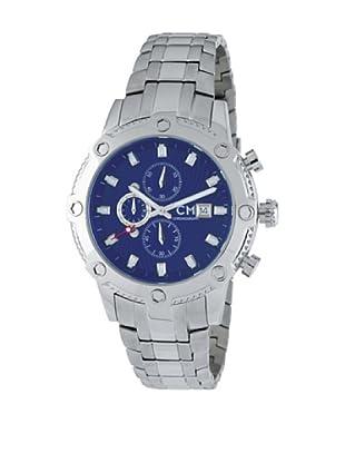Carlo Monti Herren Chronograph Stahl/blau/ CM100 131