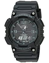 Casio AQS810W-1A2V Solar Anadigi Watch Blk Grey