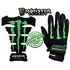 Mebelkart Combo of Monster Bikers Gloves & Tank Pad