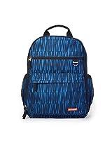 Skip Hop Duo Diaper Backpack, Blue