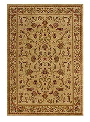 Granville Rugs Tuscany Rug (Beige/Red)