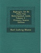 Bijdragen Tot de Flora Van Nederlandsch Indie, Volume 4