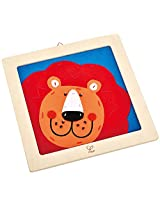 Hape - DIY Crafts - Laughing Lion Embroidery Kit