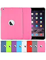 AirPlus AirCase Smart Hardback Protection with Apple Cutout for iPad Mini3 [PINK]