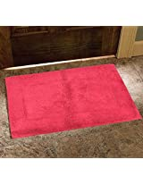 Avira Home 1400 GSM Elegance Bathmat-Floor Mat-Door Mat-100% Cotton-Dark Purple
