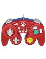 Hori Battlepad / Gamepad for Nintendo Wii / Wii U Red Super Mario