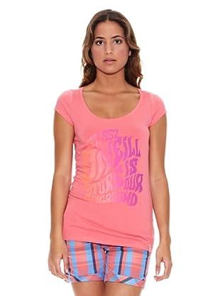 O´Neill T-Shirt Lw Anne S/Slv T (Rosa)