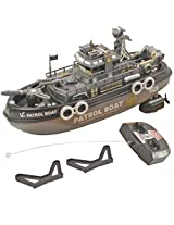 26.6cm Radio Control RC Racing Kids Toys Toy Patrol Boat Gift Remote Car -33