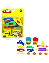 Play-Doh Rollers, Cutters and More Playset, also Play-Doh Classic 4-Pack