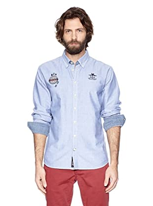 NZA New Zealand Auckland Camisa Manga Larga Torone (Azul)
