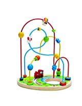 Hape Playground Pizzaz Toddler Wooden Bead Maze