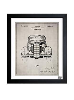 Oliver Gal Automobile II, 1934 Framed Giclée
