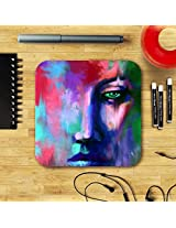 Abstract Portrait Coaster by Satyaki Sarkar