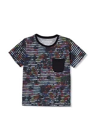 Munster Kid's Paint Bomb Cotton Jersey Tee (Multi)