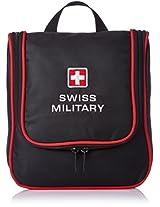Swiss Military TB-1 Utility Toilet Bag (Black)