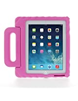 Gumdrop Cases Apple iPad 2, iPad 3, or iPad 4 Kids Lightweight Protective Carrying Case with Handle & Stand, Foam Tech Series, Pink (FT-IPAD3-PNK)