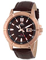 Orient Men's FUNE9002T0 SP Rose Gold Tone Case Watch