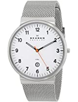 Skagen Analog White Dial Men's Watch - SKW6025